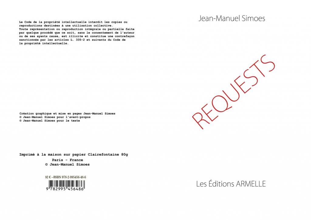 Artist book, 50 copies