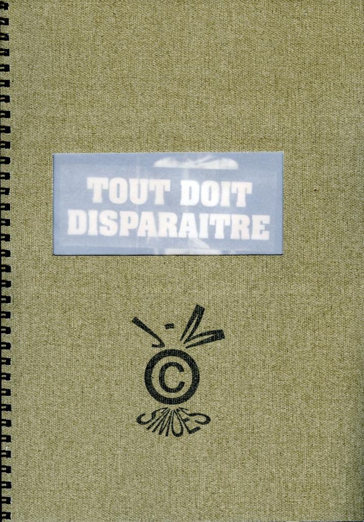 Artist book, 25 copies